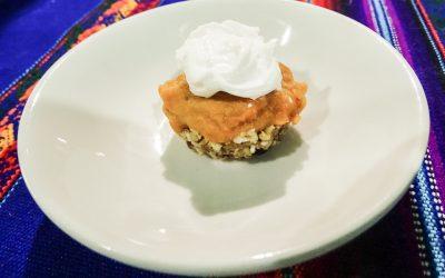 Raw pumpkin pie recipe