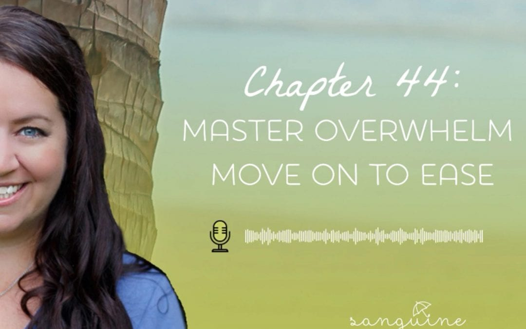 How to overcome overwhelm